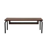 リビングテーブル/幅100cm/ウォールナット色[TOS[NL20001]